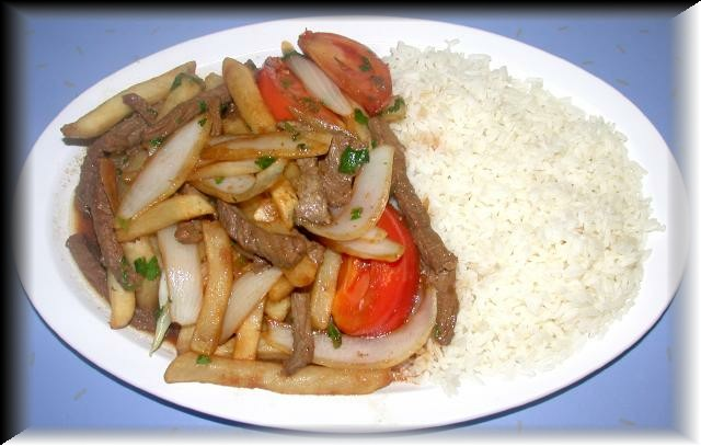Traditional Lomo Saltado
